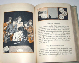 The Body's Needs Vintage 1930s Children's School Reader or Health Textbook By Macmillan Co.