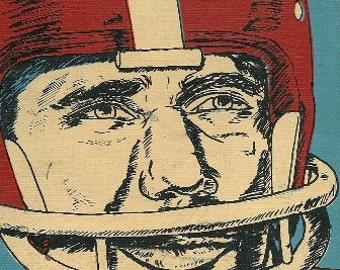 1968 Joe Namath Superstar Reading Book, New York Jets, Football Player, Legend, Football Star, Rookie