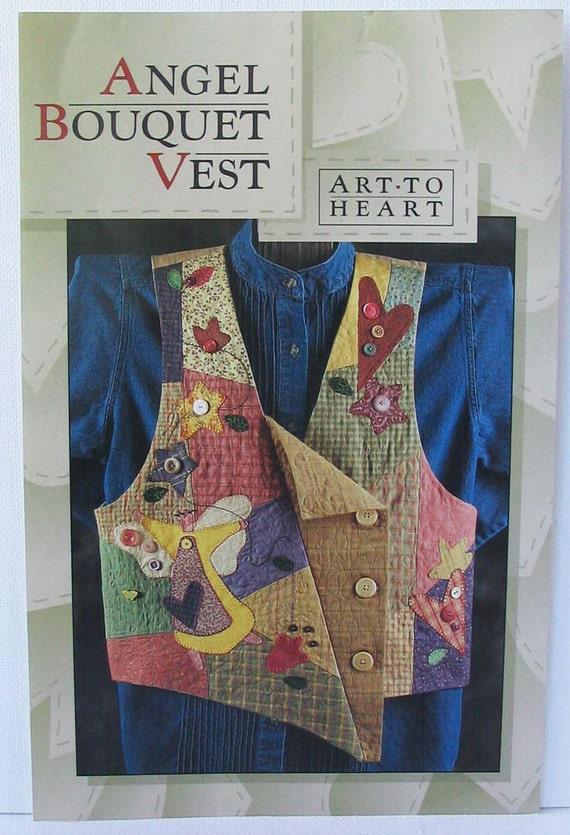 Angel Bouquet Vest 138P by Art-To-Heart