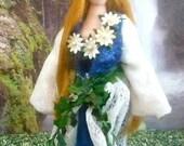 Lord Alfred Tennyson Lady of Shalott Doll Miniature Art Classic Literature