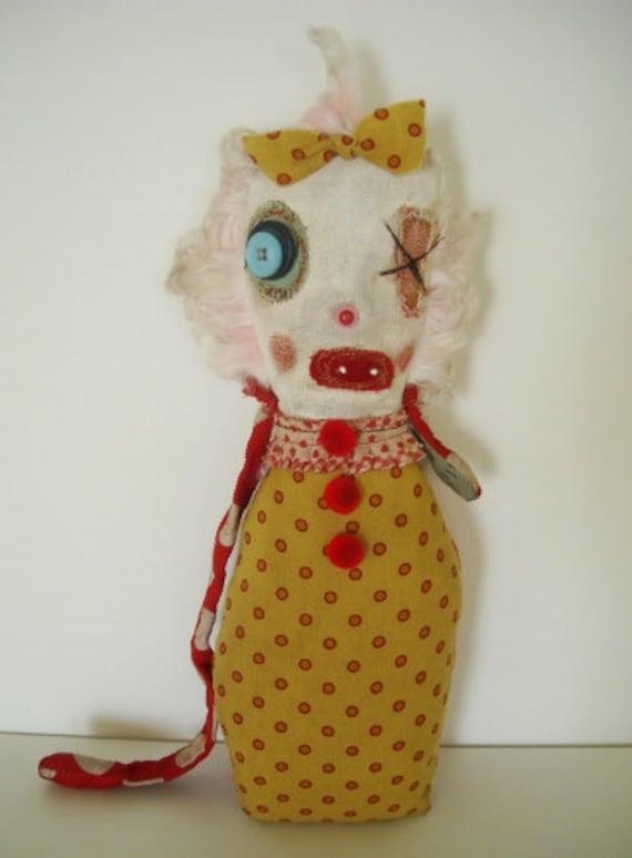 Handmade Rag Doll (Monster Flora O'Day)