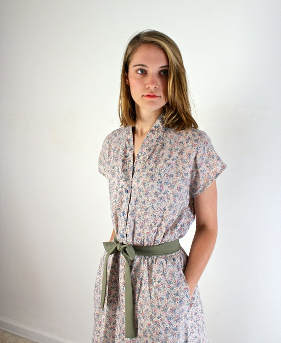 Vintage Sundress - 1970s Day Dress