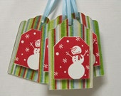 6  Snowman Gift Tags