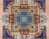 Cross Stitch Pattern, Egypt Garden Mandala Garden Counted Cross Stitch Pattern by Chatelaine DD