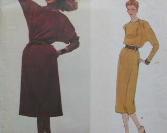 Vogue American Designer Dress Pattern Geoffrey Beene 2279