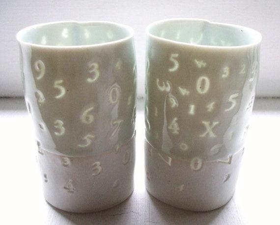 123 - Translucent porcelain cup