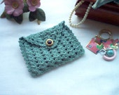 Rosary Case Jewelry Pouch Coin Purse Gift Bag Crochet Thread Art