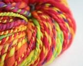 Send in the Clowns a handspun yarn 90 yards