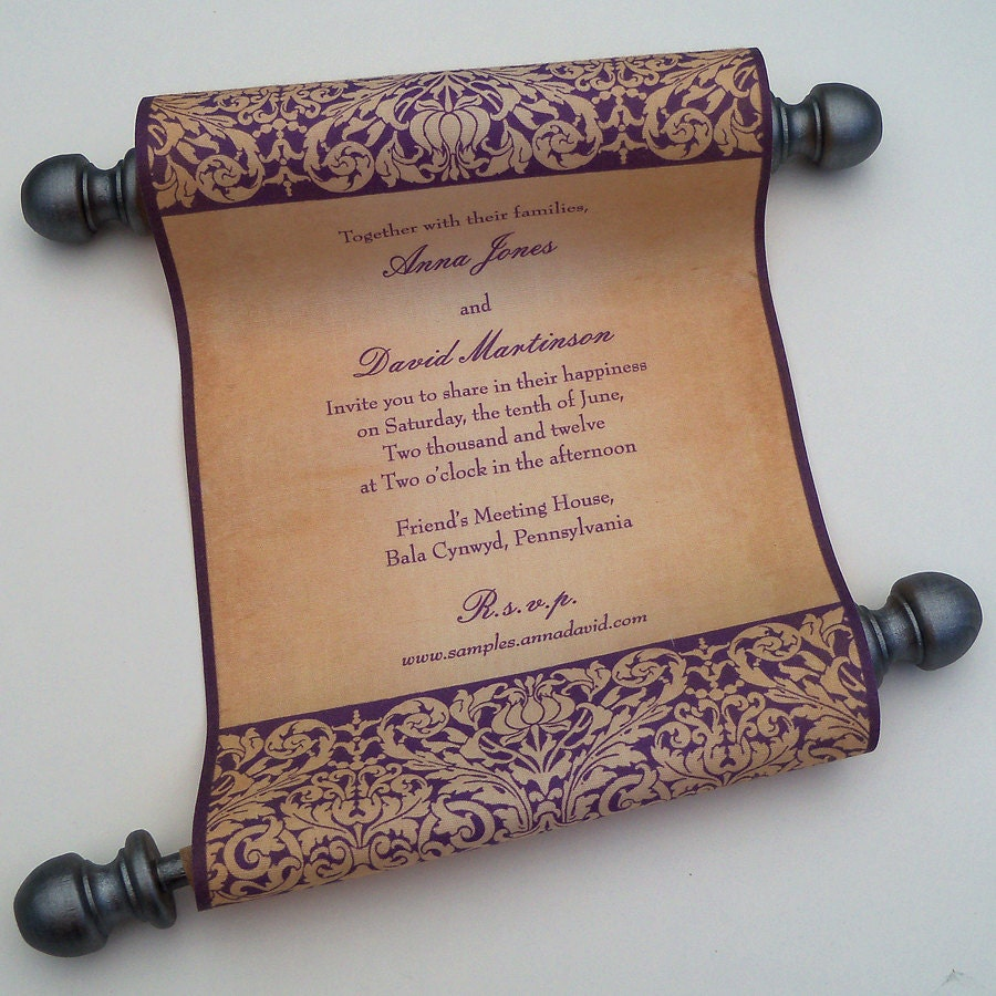 Medieval Wedding Invitations is an amazing ideas you had to choose for invitation design