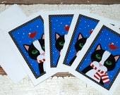 Winter Felix Set of 4 Cards