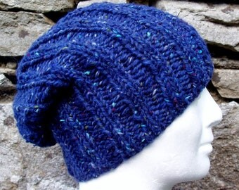 Knit Hat Pattern Round : Popular items for easy knit on Etsy