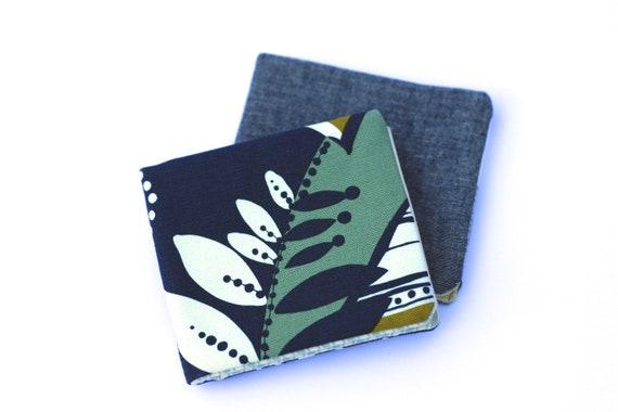 Fern Canvas Men's Wallet