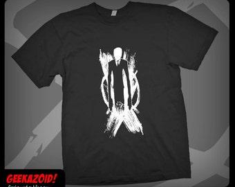 Slender Man T-Shirt Horror - Men's Women's or Youth Sizes XS - Plus Size