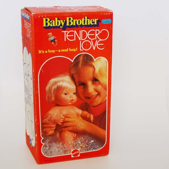 Baby Brother Tender Love Doll by Mattel