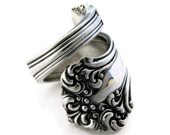 Spoon Ring Size 6 to 10 Avon Wrapped