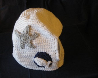 Crocheted Space Helmet for You Little Space Explorer Present Gift Christmas Birthday