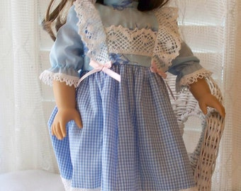 Handmade Doll Clothes Traditional Dress Fits 18 inch dolls