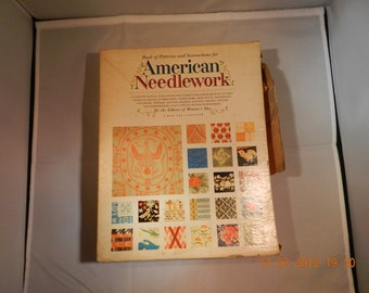 American Needleworks Collection Instructions and Patterns Crochet, Knit, Crewel, Needlepoint and More