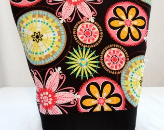 Insulated Lunch Bag - Michael Miller Carnival Bloom