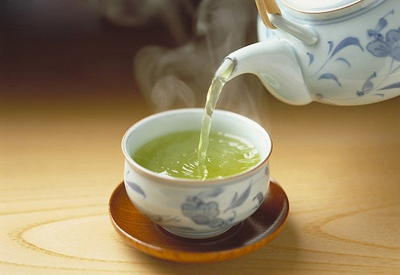 Tea Teabags 50 Green Decaffeinated Tea Hand Blended teabags decaf