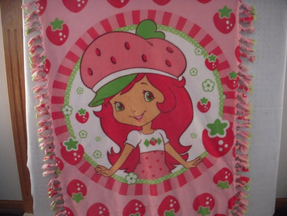 Strawberry Shortcake Nosew Fleece Blanket By Micmo On Etsy