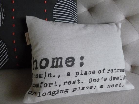 Industrial Chic Modern Throw Pillow HOME by ShannSpishakStudio