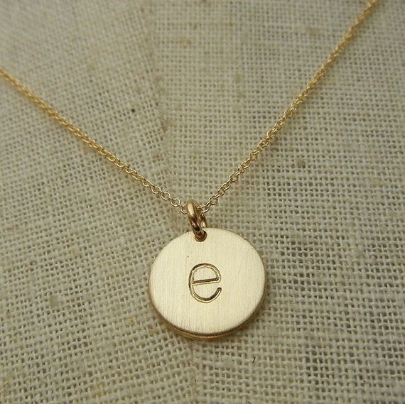 Gold Letter Necklace | Gold Initial Necklace | Letter Charm Necklace ...