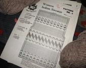 Cowichan-style Sweater Pattern PDF - a Canadian Tradition - Sweater Jacket pattern