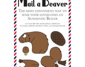 "Beaver Postcards, Set of 8 ""Mail a Beaver"" Postcards"