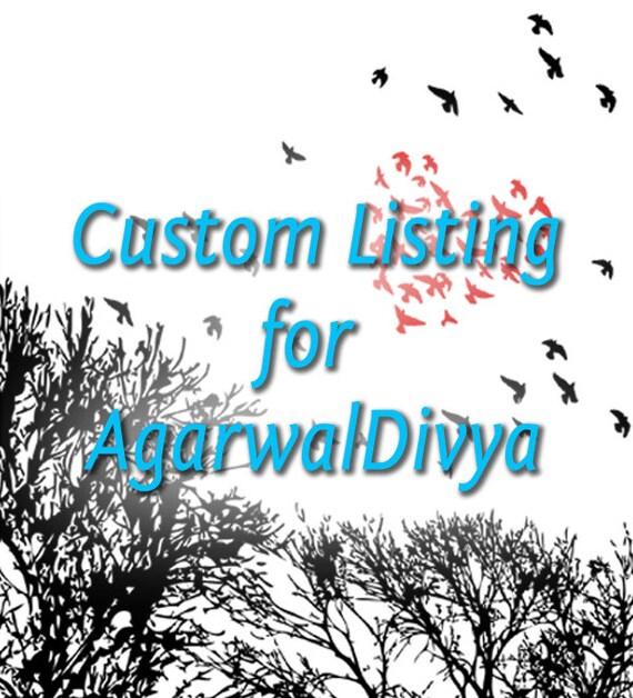 Custom Listing for AgarwalDivya - Wanderlust - 8 x 10