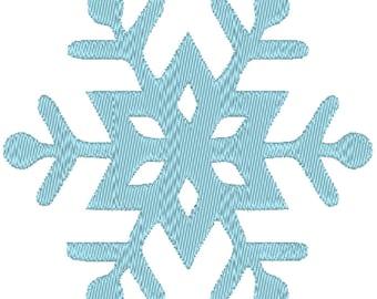 Snowflake Machine Embroidery Design 015