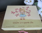 Keepsake box- Personalized Didi and the butterflies