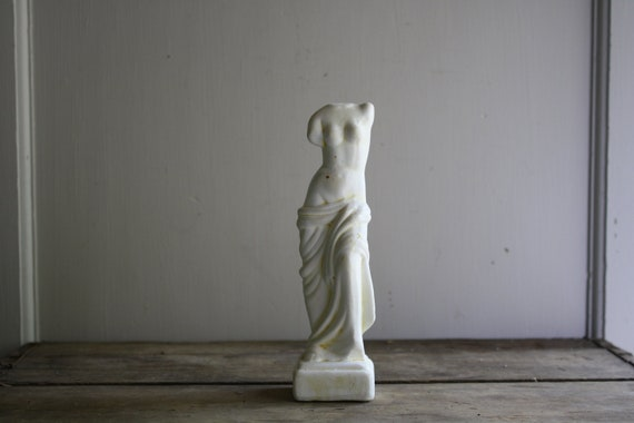 RESERVED vintage classical nude sculpture