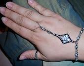 crystal slave bracelet
