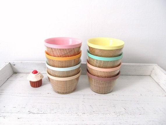 Vintage Colorful Bowls