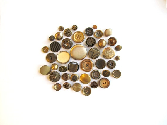 Buried Treasure Vintage Buttons