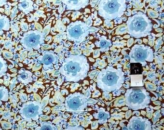 Dena Designs PWDF120 London Manchester Blue Cotton Fabric 1 Yard
