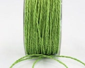 CLEARANCE - Paper Cord in Green - 5 Yd Bundle