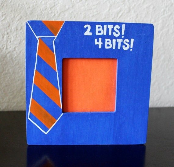 Florida Gators Two Bits Tie Frame