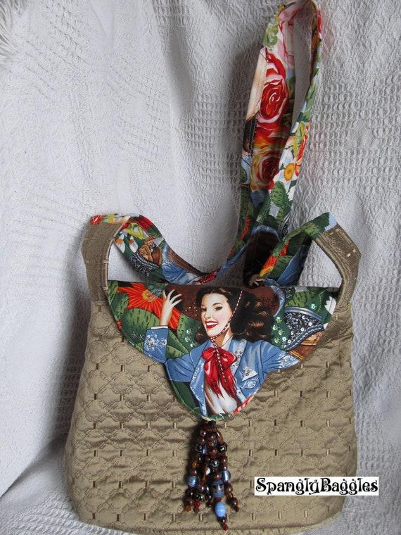 Mexicana silk and cotton messenger cross-body bag