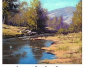 COXS RIVER Oil Painting australian landscape Summer art Decor by G.Gercken