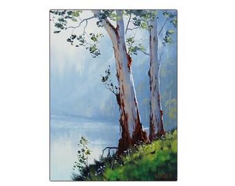 TREE PAINTINGS  Australian artwork traditional oil by  Graham Gercken