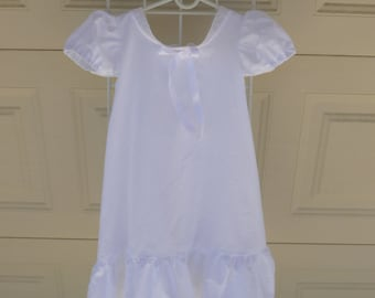 Child's cotton nightgown/dress