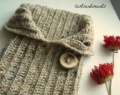 PATTERN Newborn Baby Crochet Cocoon V Flap Opening - Instant Download - Wonderful Photo Prop - by lostsentiments - lostsentiments