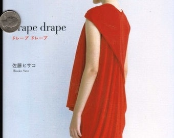 Japanese Craft Book Drape Drape Hisako Sato Cloth Tunic