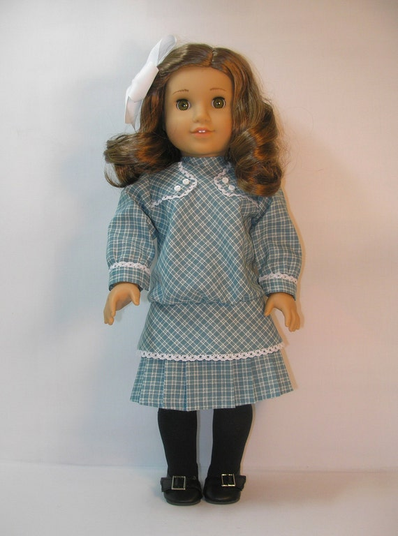 1914-1111 American Girl Doll Clothes Dress for Rebecca