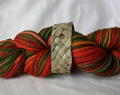 Handpainted Sock Yarn - New Zealand Merino Wool - Pohutukawa - Definitions of Aotearoa Collection