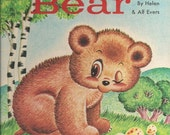 Pokey Bear - Helen & Alf Evers - 1960s Rand McNally Bear Book