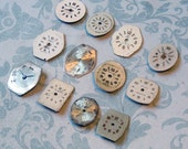 Dozen Tiny Vintage Watch Faces (WPF1207)