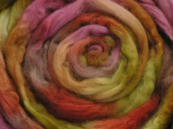 150g Space-dyed Superfine Baby Alpaca Top - Pot-Pourri